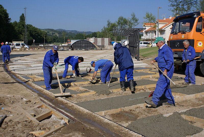 Obras Festival de Xardíns 2010