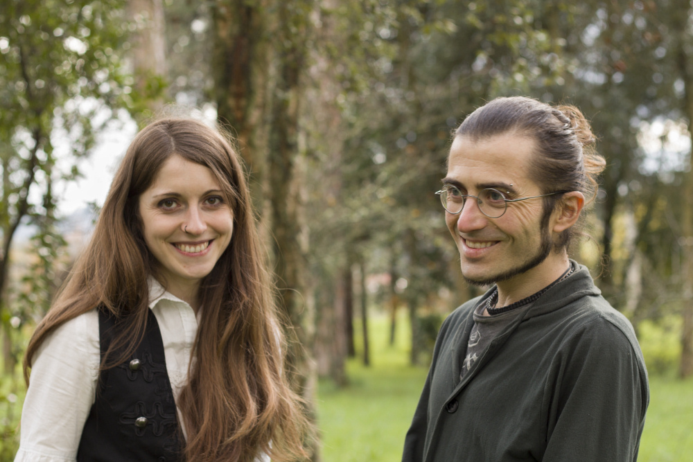 María Susana Ribeiro e Jesús Pacheco