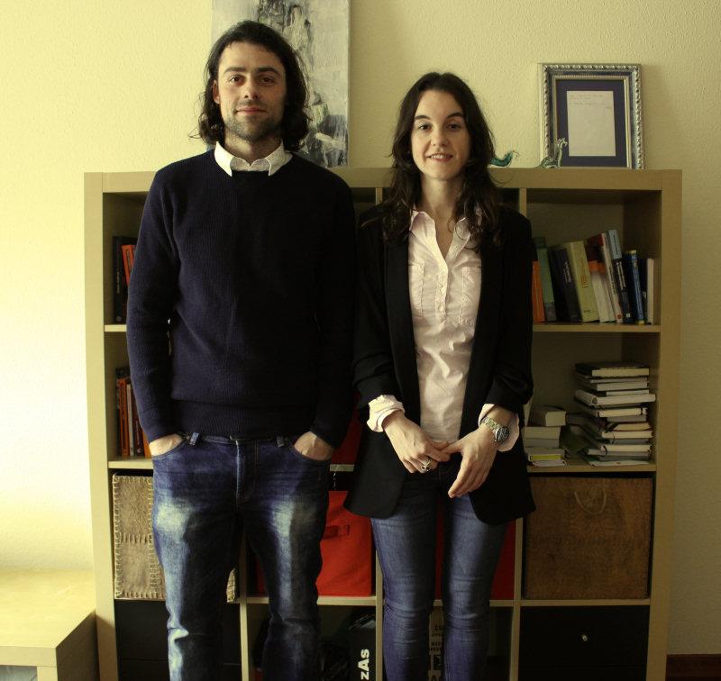 Leticia Álvarez Fernández e Pablo Rodríguez Regueiro