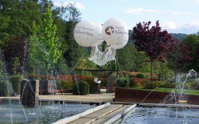 Os xardíns da memoria poderán ser visitados ata o 29 de outubro