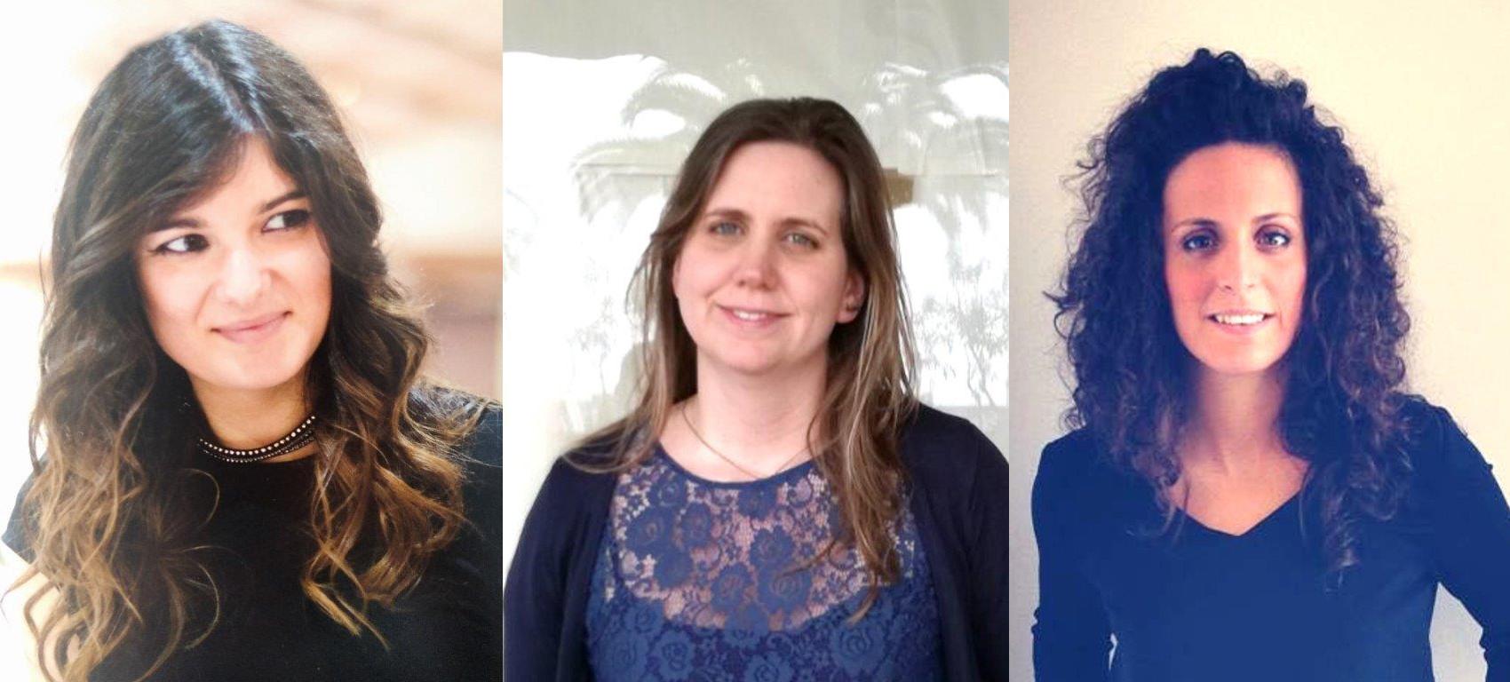 Team MCR - Mónica Mota, Cláudia Vilar, Renata Ferreira