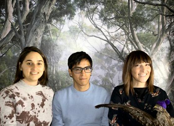 Mandarina: Elvira de Navas, Luis M Santos e Ángela Martínez
