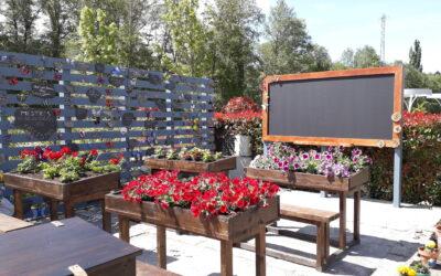O escritor Manuel Rivas visita o xardín As bolboretas da Memoria