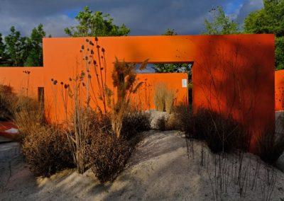 11 – Futuristic Garden