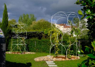 3 – Emily Dickinson inside garden