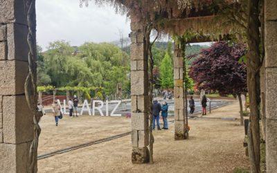 Case 4000 persoas visitaron os Xardíns da Poesía nos primeiros 15 días da súa apertura.