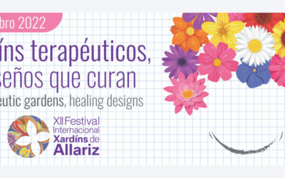 Prazo aberto, ata o 30 de novembro, para participar no concurso 2022 do Festival Internacional de Xardíns de Allariz.