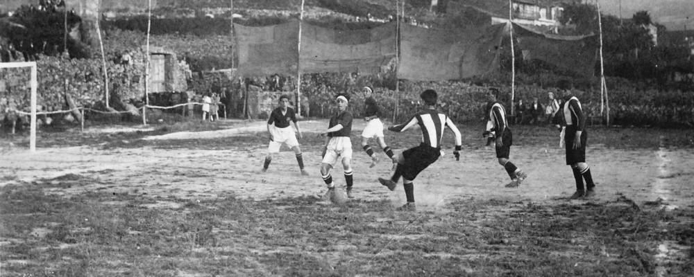 1923 Xogando ao Fútbol en Vilanova