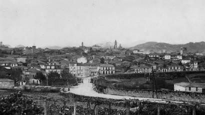 Allariz 1927 - Entrada e vista xeral