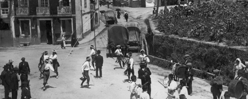 1927 Bailando o Entrenzado