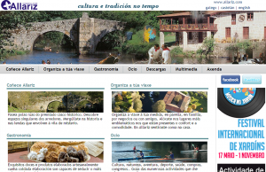 Web Turismo Allariz