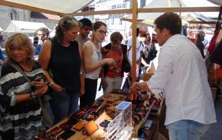 Mercado de Artesanía de Allariz - Arte de Man 2016