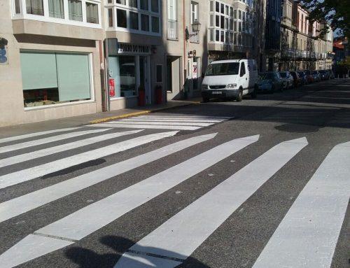 O Concello de Allariz procedeu ao repintado da sinalización na rede viaria municipal