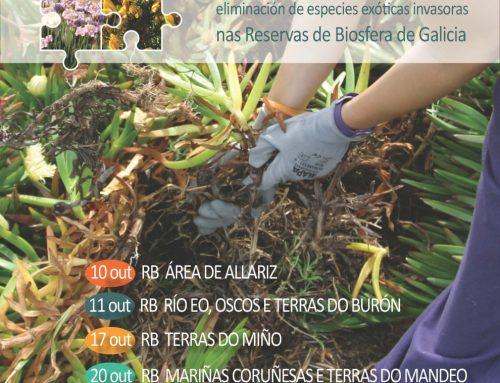 Voluntarios para salvagardar a biodiversidade galega