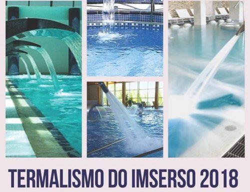 Abre o prazo para inscribirse no programa Termalismo do Imserso 2018