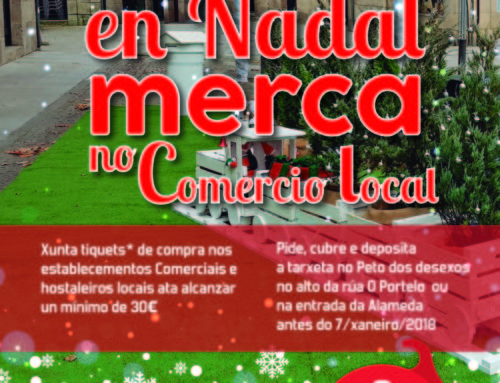 En Nadal merca no Comercio Local