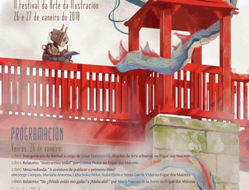 """Segunda edición, en Allariz, do Festival de Arte da Ilustración """"Allariz Debuxado"""""""
