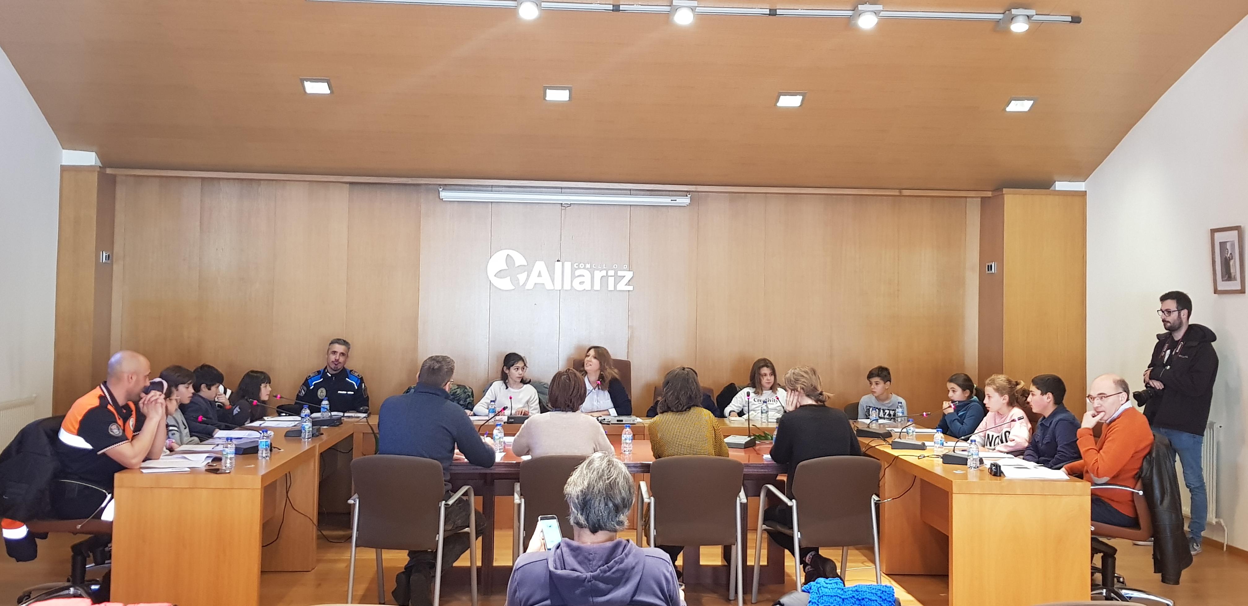O primeiro Consello de nenos e nenas de Allariz rematou cun balance moi positivo