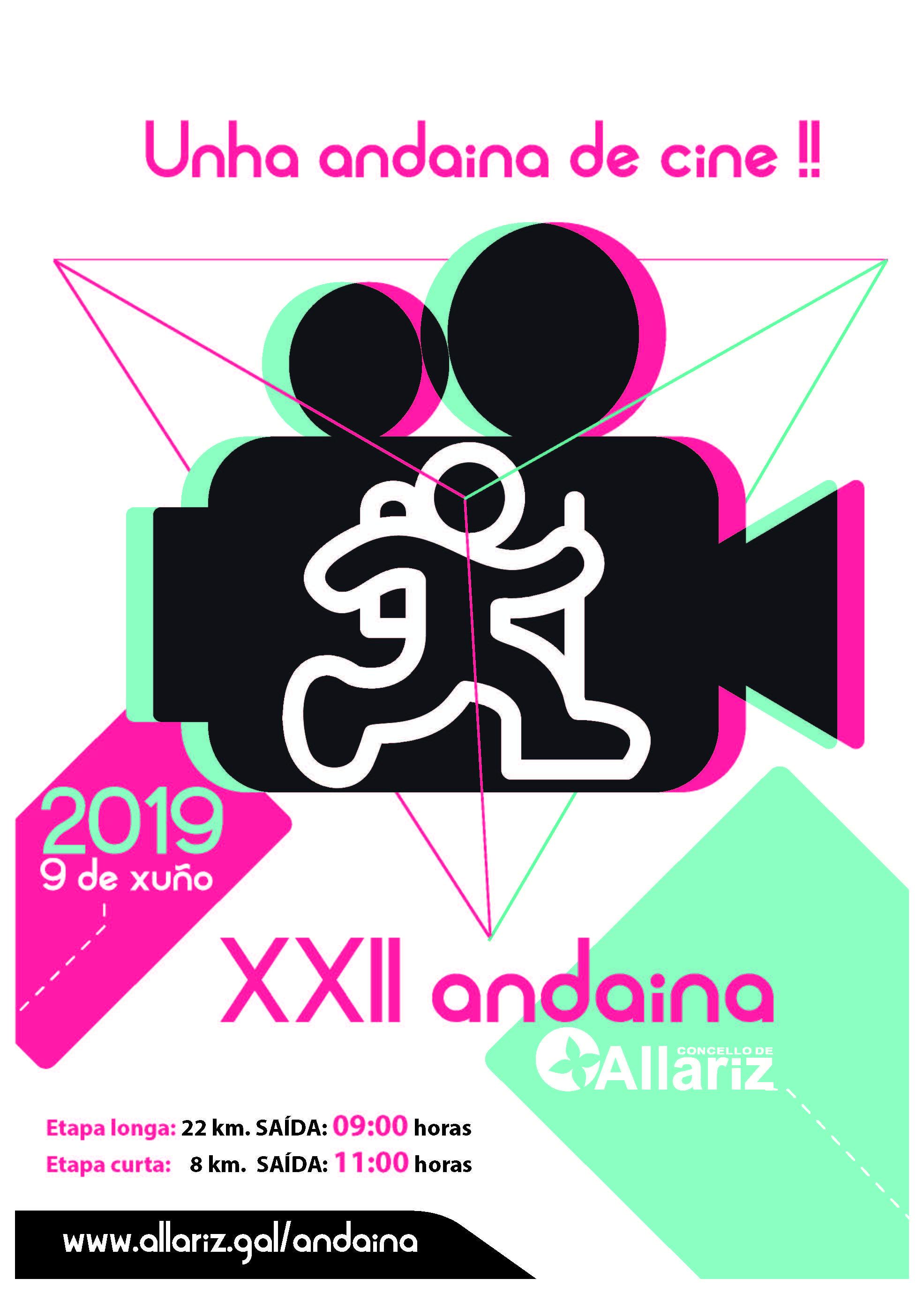 A Andaina de Allariz cumpre 22 anos cun novo percorrido
