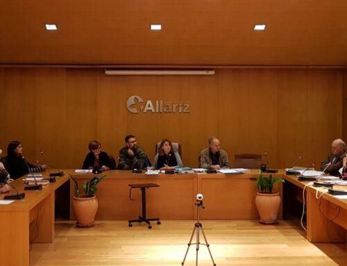 O pleno municipal reúnese este venres en sesión ordinaria.