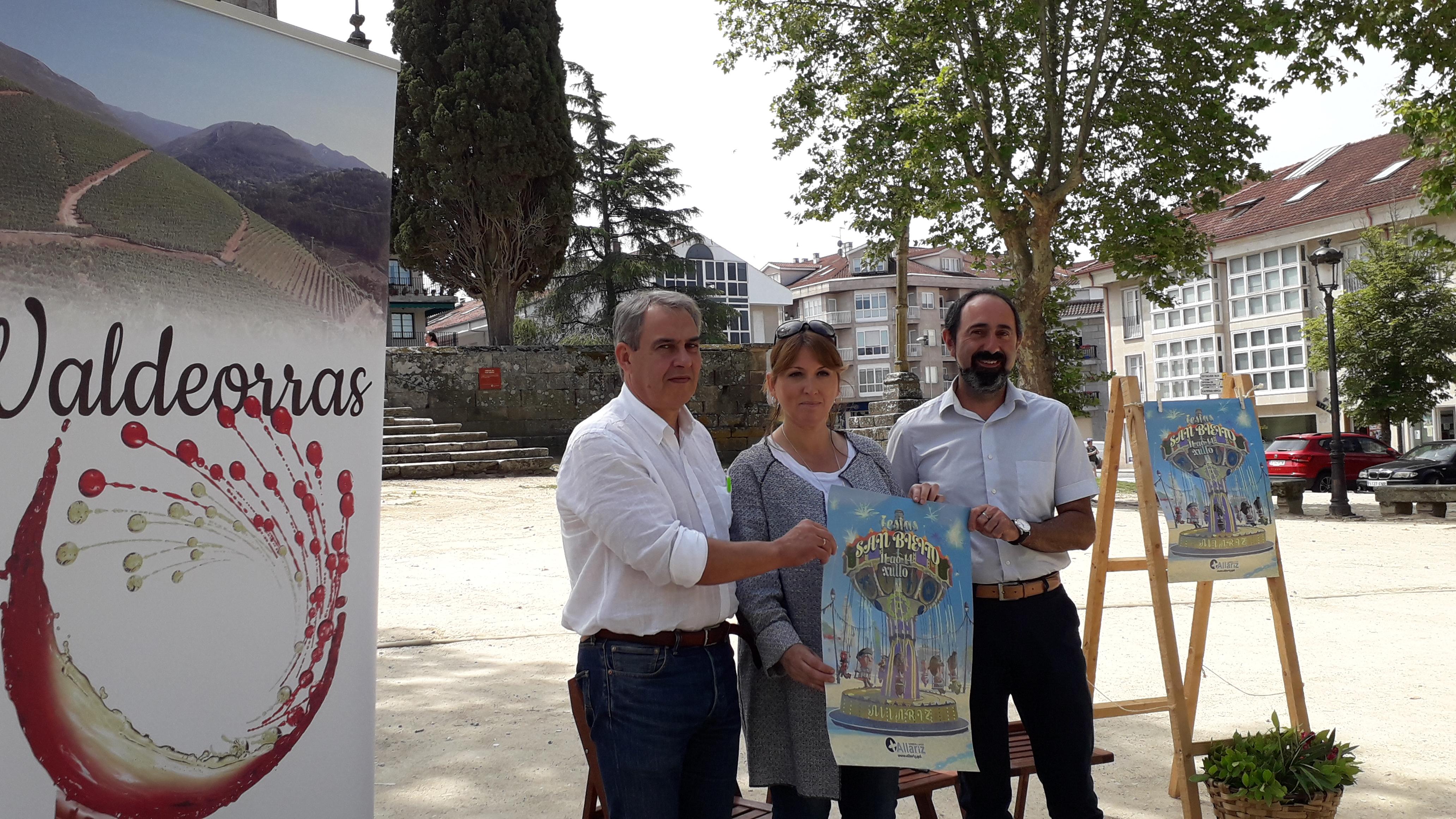 Viño de Valdeorras e produtos do mar e da terra de Carballo inician a programación  das Festas de San Bieito