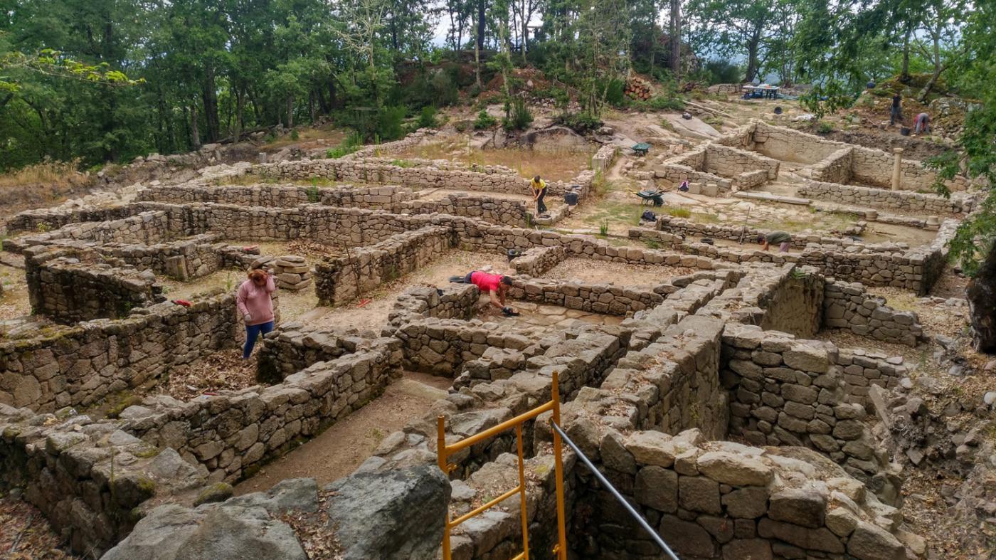 Arranca unha nova campaña arqueolóxica en Armea