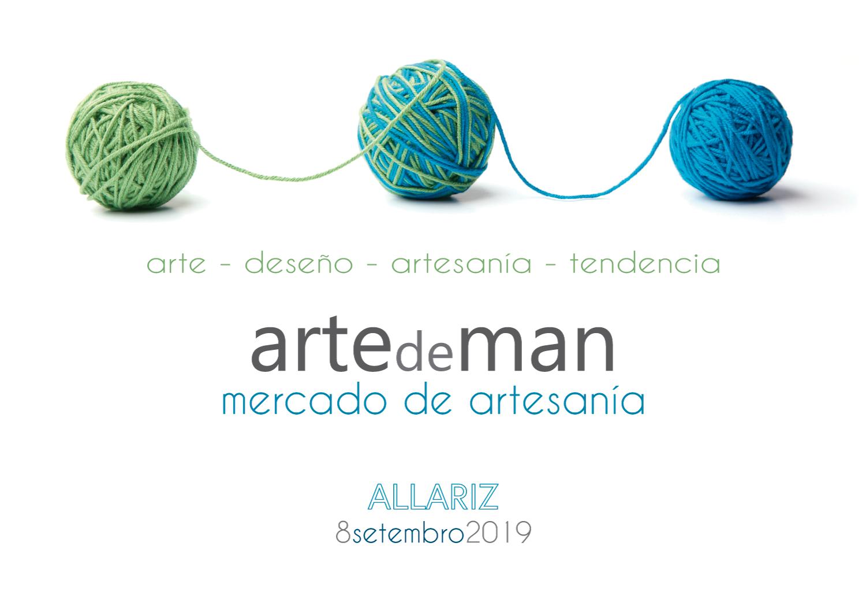 Aberto o prazo de inscrición para participar no mercado de artesanía «Arte de man»