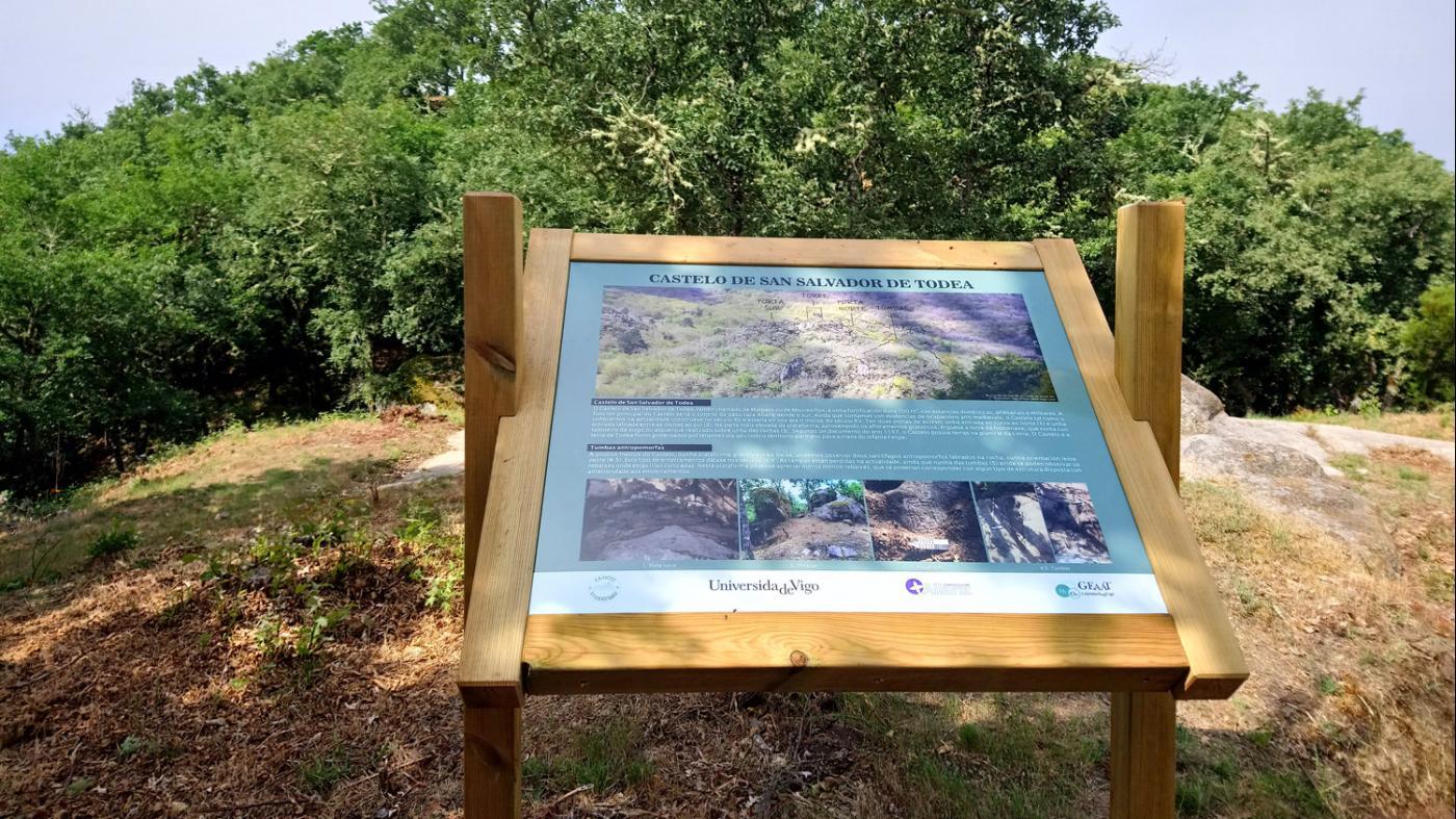 Unha ruta interpretativa permite coñecer o xacemento de San Salvador de Todea en Allariz