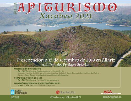 A Asociación Galega de Apicultura presenta, en Allariz, o proxecto Apiturismo Xacobeo 2021