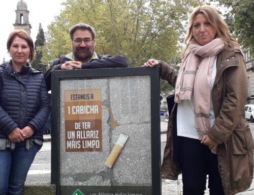 """O Concello de Allariz lanza unha campaña de limpeza baixo o lema """"Un Allariz máis limpo é cousa de tod@s"""""""