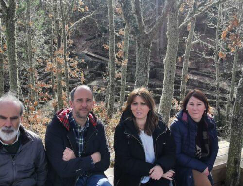 O Concello de Allariz xunto ca Universidade de Vigo presentaron a nova sinalización e accesibilidade para a posta en valor conxunto arqueolóxico de Armea en Allariz.