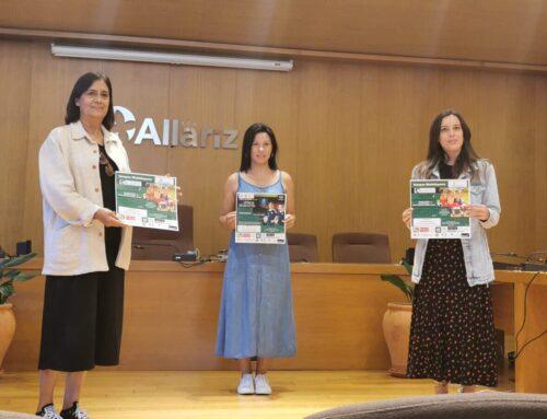 Ociosaugal, organiza en agosto actividades deportivas, en colaboración co Concello de Allariz e o CD. Allariz.