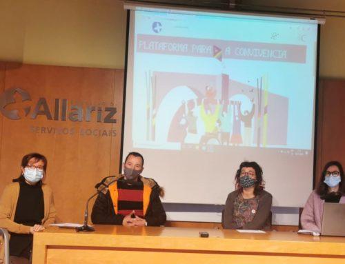 Allariz presenta a nova web,  Plataforma para a Convivencia.