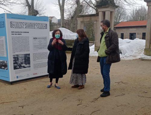 """Presentación da exposición """" Nós naceu en Ourense hai 100 anos"""" ."""