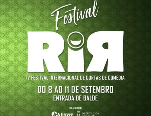 Allariz acollerá, por cuarto ano, unha nova edición do Festival RiR.