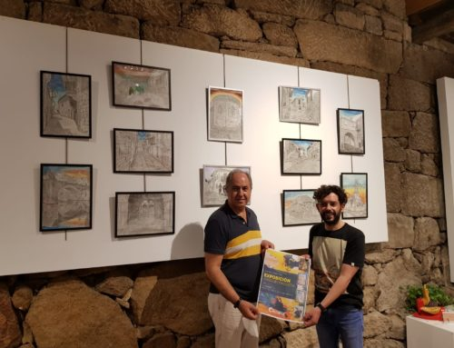 A Sala da Paneira en Allariz acolle a exposición de Joaquín Dacosta ata o 11 de agosto.