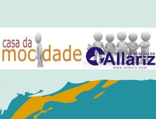 Novidades na Casa da Mocidade de Allariz.