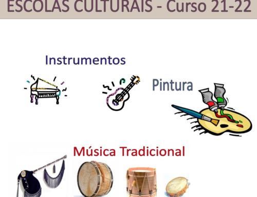 As Escolas Culturais prepáranse para o curso 2021/2022.
